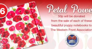 Phoenix Trading Poppy Notebook