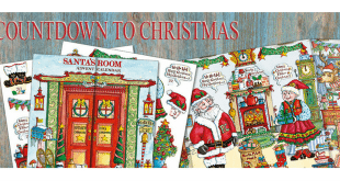 Santa's Room Advent Calendar - Phoenix Trading
