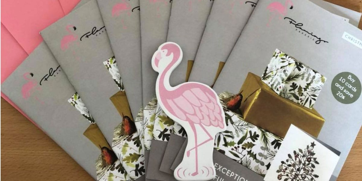 Flamingo Paperie Christmas Brochures
