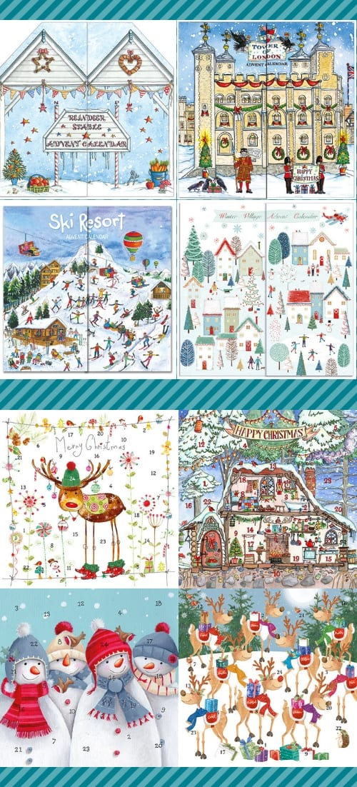 Flamingo Paperie Advent Calendars and Cards