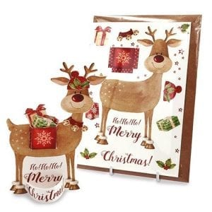 Rudolph get ready - Flamingo Paperie